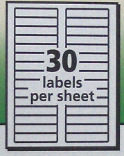 "300 Avery 5366 White /5866 green File Folder Labels_Laser/Inkjet 2/3"" x 3-7"