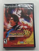 King of Fighters '98: Ultimate Match (Sony PlayStation 2, 2009) NEW Sealed!! PS2