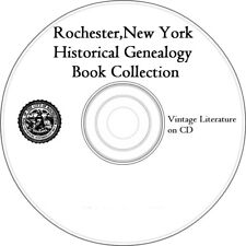 Rochester New York Historical Genealogy Collection on CD