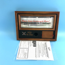 ProActive Sports Hole in One Ball and Scorecard Display - Wood #No6920