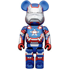 Medicom Bearbrick | 400% Iron Patriot Be@rbrick