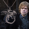 Game of Thrones Necklace Tangerian Dragon Mother Pendant GOT Necklace Dragon GOT