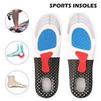 Sport Semelle Intérieure Pair Orthopédique Intérieure Pied Coussin Absor Choc PS