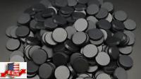 Lot Of 100 - 25mm Round Bases For Warhammer 40k & AoS Games Workshop Bitz