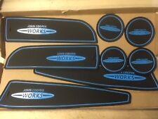 MINI JOHN COOPER WORKS (R56) 2006 - 2013 DASHBOARD GATE PADS - (BLUE ONLY)