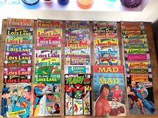 Colección de Vintage principalmente década de 1960 Dc Comics-JOBLOT-Superman-Lois Lane