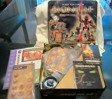 Lego Bionicle Quest For Makuta Adventure Board Game in Collector Tin