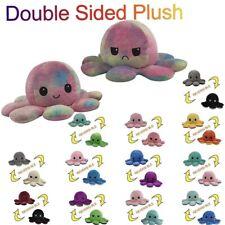 Kinderspielzeug Geschenk Plüschtiere Octopus Doppelseitiges Flip-Plüschtier