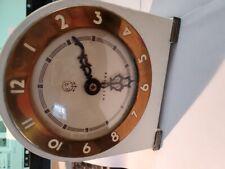Vintage Westclox Shabby Chic Clock Shelf Mantel NonWorking Off White