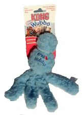 KONG Wubba Dog Toy Fun Interactive Play Fetch Strong Safe Blue Small Comforting