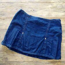 "Da-Nang Women's Navy Blue Mini Skirt 30"" Waist NWOT"