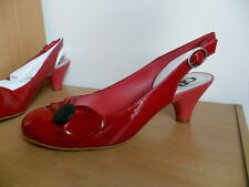 Gianni Bini Free Time Red Patent Leather, size 8.5, BN in box