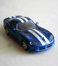 "Daimler Chrysler Corporation 2002 Dodge Viper GTS Metal Car Doors Open 5 3/4"" L"