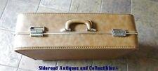 "Vintage Invicta Suitcase Luggage Camel 1226A 26"" Pullman VGUC Orig. Box"