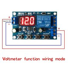 Battery Charge Discharge Board Under/Over Voltage Protection Module DC 6-40V TW
