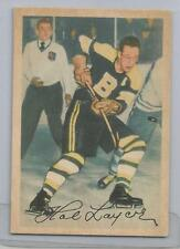 1953-54 Parkhurst Hockey Hal Laycoe Card # 87 Excellent Condition
