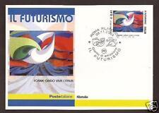 Futurismo : Giacomo Balla - Cartolina Filatelica Ufficiale Poste Italiane 2003