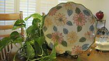 Longaberger Sunflower Pottery Serving Platter