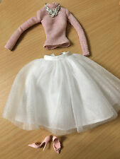 Barbie Doll Model Muse The Look Party Perfect Outfit Tulle Skirt Pink Top Shoes