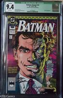 Batman Annual 14 CGC 9.4 2027020001 sign Neal Adams Two Face ONLY 1 ON CENSUS!!!