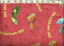 Quilting Treasures ~ Dinosaur Train Buddy Tiny ~ 100% Cotton Quilt Fabric BTY