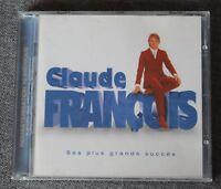 Claude François, ses plus grands succés remasterisés, CD