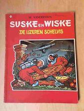 Suske en Wiske 076, De Ijzeren schelvis, 1° druk 4kleuren