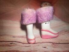 "Bratz 9"" Girlz Girls Doll Shoes Fur Boots Winter Ice Champions Vinessa Yasmin"