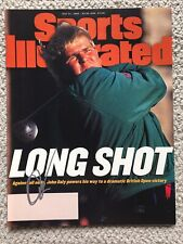 John Daly Signed Sports Illustrated July 31 1995 British Open No Label