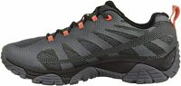 Merrell Mens J77413 Low Top Lace Up Trail Running Shoes, Monument, Size 9.5 LOgi