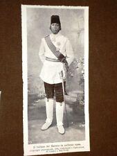 Il Sultano del Marocco nel 1906 In Uniforme di Russia