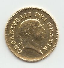 More details for 1806 george iii gold third guinea - ex mount