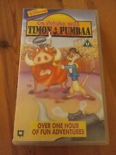 On Holiday With Timon and Pumbaa VHS