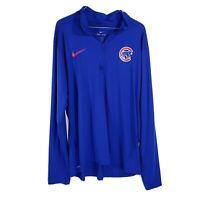 Nike Chicago Cubs Ladies Replen Walking Bear Jacket XL Golf Polo Shirt MLB N10