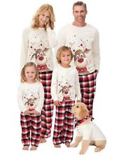 Family Matching Adult Kids Christmas Xmas Pyjamas Festive Pyjama Sets