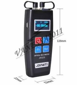 Mini Fiber Optical Power Meter All-in-one Red Light Meter Color Screen JW3235