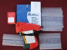 Avery Dennison Fine Price Tag Gun +1000 Barb +100 Special Price Tag +1 Ex Needle
