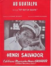 partition  HENRI SALVADOR au guatalpa (du film et que..