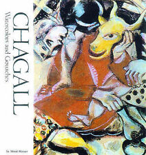 Chagall: Watercolors and Gouaches (Watson-Guptill Famous Artists)-ExLibrary