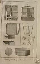 Friseur Bader Badewanne Zuber Bad Sauna Dampfbad Baden Sanitär Bath Waschen