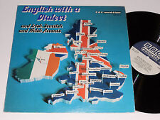 ENGLISH WITH A DIALECT BBC records NM- 1971 Irish Scottish Welsh acting speech