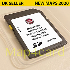 Fiat 124 Spider Connecteur Carte SD Navigation GPS Europe Et UK 2019 - 2020
