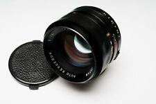 CLAed RARE Revuenon 55mm f/1.4 Fast Prime m42 Tomioka Planar DSLR/MILC adaptable