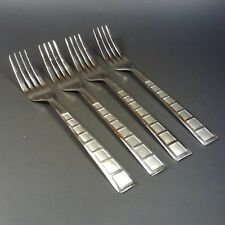 Cambridge Silversmiths Stainless MOSAIC SAND Dinner Forks Set of 4 Fork