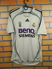 Real Madrid jersey 2006 2007 Home S Shirt Soccer Football Adidas