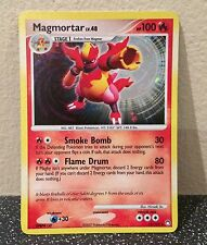 Magmortar 12/123 Mysterious Treasures Holo Rare Pokemon Card Used Condition