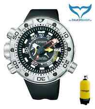 Citizen Promaster Aqualand Marine bn2021-03e 20bar ECO-DRIVE Go Deeper in acciaio inox