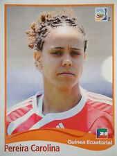 PANINI Pereira Carolina Guinea Equatoriale FIFA donne WM 2011 GERMANY