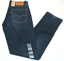 Men's Authentic Levi's 511 Slim Fit Medium Wash Navy Blue Jeans - 045112369