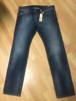 NWD MADE ITALY Diesel SAFADO STRETCH Denim 0840F BLUE R/Slim W33 L32 H8 RRP£150